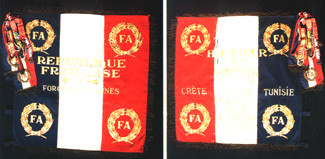 The French SAS Flag of 1944-45